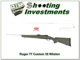 Ruger 77 Hawkeye Custom 35 Whelen like new