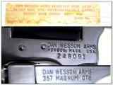 Dan Wesson 15-2 357 Magnum Pistol Pack 6 barrel set in case! - 4 of 4