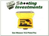 Dan Wesson 15-2 357 Magnum Pistol Pack 6 barrel set in case! - 1 of 4