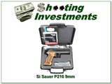 Sig Sauer P210 TARGET210A-9-TGT 9mm NIB