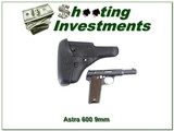 ASTRA Model 600 Spanish 9mm