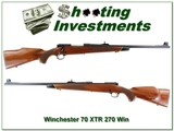 Winchester 70 XTR 270 Win looks unfired!