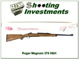 Ruger 77 Magnum RSM 375 H&H ANIB!