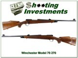 Winchester 70 New Haven 1972 made 270 Win - 1 of 4