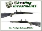 Sako III Finnlight Stainless Fluted very hard to find 243