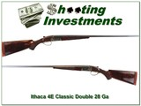 Ithaca Classic Doubles 4E hard to find 28 Bore