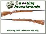 Browning Safari Grade 7mm Rem Mag 74 Belgium