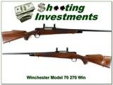 Winchester Model 70 XTR 270 Win near new!