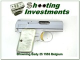 Early Browning 25 ACP Baby Browning 55 Belgium Exc Cond - 1 of 4
