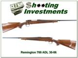 Remington 700 ADL 30-06 Exc Cond
