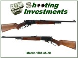 Marlin 1895 SS JM Marked 45-70 Exc Cond - 1 of 4