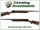 Browning A5 Light 12 Vent Rib 26in IC - 1 of 4
