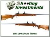Sako L61R Deluxe Bofors Steel 338 Win Mag!