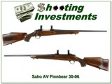 Sako AV Finnbear 30-06 Exc Cond - 1 of 4