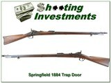 Springfield 1884 Trap Door 45-70 with Bayonet made in 1889