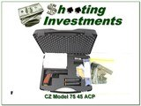 CZ Tactical Sport Orange 40 S&W