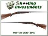 Ithaca Flues RARE Grade 4 20 Ga Full & Full