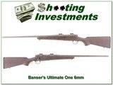 Bansner Ultimate One 6mm Rem Custom!