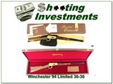 Winchester 94 Limited Edition 1 30-30 1977 NIB with walnut case!