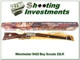 Winchester Model 9422 Boy Scouts of America Commemorative NIB
