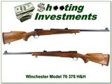 Winchester Model 70 1968 made 375 H&H collector!