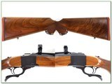 Ruger No.1 B Red Pad 270 exceptional wood! - 2 of 4