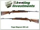 Ruger 77 Magnum Safari RSM 458 Lott Exc Cond - 1 of 4