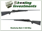 Weatherby Mark V 340 Wthy Mag 26in near new! - 1 of 4