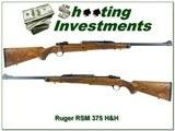 Ruger 77 RSM 375 H&H XX Wood!!! - 1 of 4
