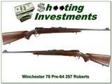 Winchester 70 1948 pre-64 257 Roberts!