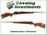 Weatherby Mark V Deluxe German 300 Wthy - 1 of 4