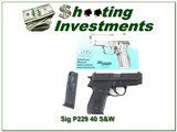 Sig Sauer P229 40 S&W with 22LR Conversion Kit
