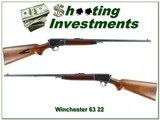 Winchester Model 63 22LR made in 1957 Exc Cond! - 1 of 4