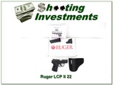 Ruger LCP II .22 LR 2 mags - NIB - 1 of 4