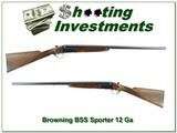 Browning BSS Sporter 12 Gauge 28in barrels Exc Cond - 1 of 4