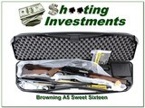 Browning A5 Sweet Sixteen new in case! - 1 of 4