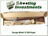 Savage Model 12 VLP 204 Ruger DBM Stainless Laminated