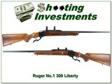 Ruger No.1 B pre-warning 76 Liberty 300 Win collector! - 1 of 4
