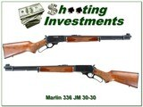 Marlin 336 A Micro-Groove, North Hanven JM marked 30-30 - 1 of 4