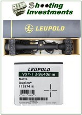 Leupold VX I 3-9 X 40mm Gloss scope as new in box! - 1 of 1