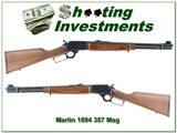 Marlin 1894C 357 Magnum 18in JM marked Straight Stock!