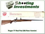 Ruger 77 Red Pad RARE 280 Rem Varmint NIB!