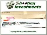 Savage 10 ML II camo NIB 50 Cal Muzzle Loader