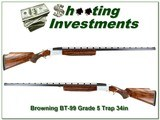 Browning BT-99 RARE Grade 5 hand engraved 34in