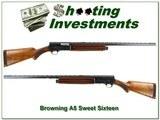 Browning A5 Sweet Sixteen 57 Belgium VR!