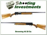 Browning A5 69 Belgium 20 Ga 26in VR IC!