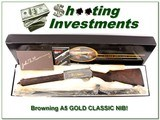Browning A5 Gold Classic unassembled exceptional wood!