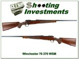 Winchester Featherweight 270 WSM New Haven made! - 1 of 4