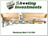 Weatherby Mark V Limited edition Open Country 6.5-300 Sitka Camo! - 1 of 4