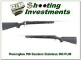 Remington 700 Sendero 300 RUM Stainless Fluted - 1 of 4